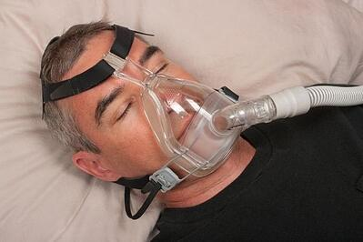 sleep apnea with cpap machine