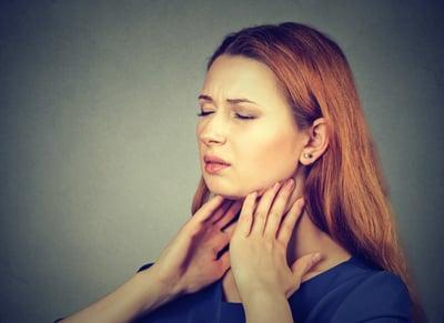 symptoms of tonsilitis